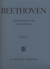 HAL LEONARD Beethoven, L.V. (Platen): String Trios and Duos, Op.3,8,9, and WoO32 - URTEXT (violin, viola, & cello)