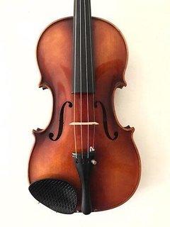 Anton Becker 4/4 Strad copy violin outfit, No. 107, ca 1960, GERMANY