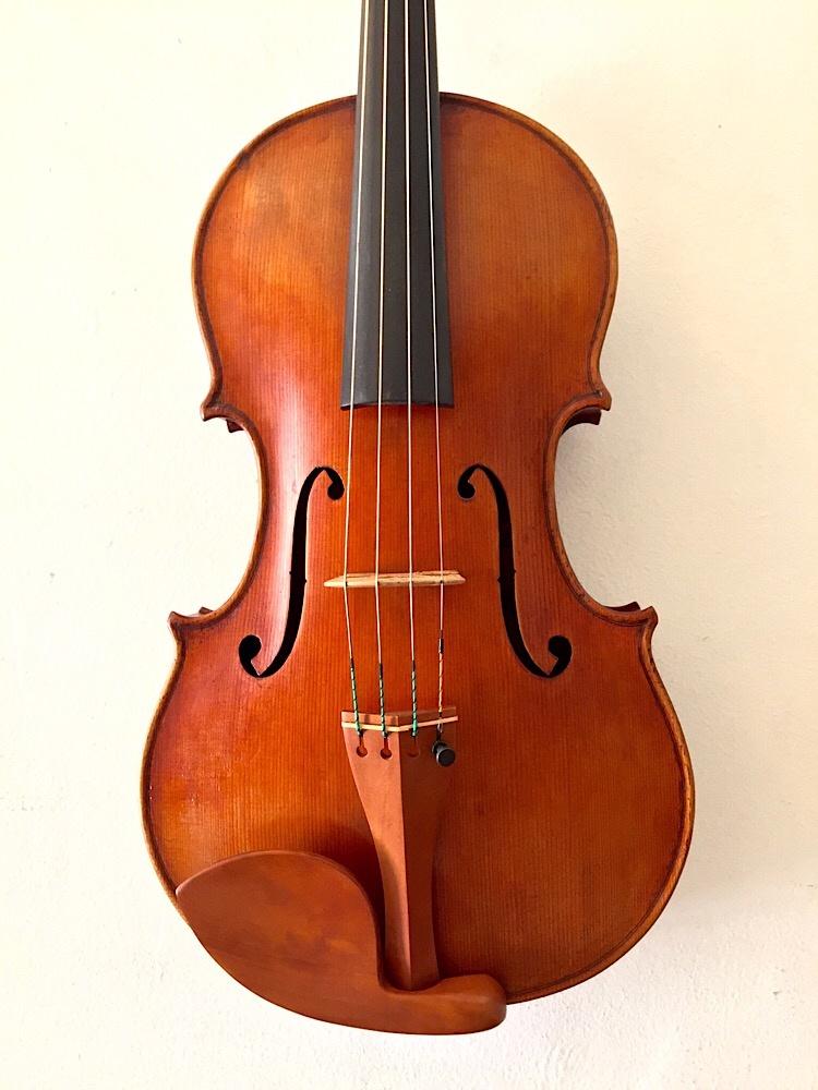 "Douglas Cox 15 5/8"" viola, 2015, Guarneri del Gesu model, #899, West Brattleboro, Vermont USA"