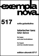 HAL LEONARD Gubaidulina, S.: Tatar Dance (bayan and 2 double basses)