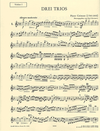 Cremont, Pierre (1784-1846): 3 Easy Trios (2 violins & cello)