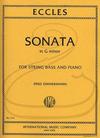 International Music Company Eccles (Zimmermann): Sonata in G minor (bass & piano) International
