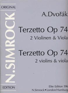 HAL LEONARD Dvorak, Antonin: Terzetto Op.74 (2 violins & viola)