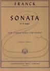 International Music Company Franck (Sankey): Sonata in A Major (bass & piano) International
