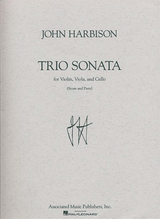 HAL LEONARD Harbison, John: Trio Sonata (Violin, Viola & Cello) score & parts