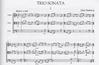 HAL LEONARD Harbison, John: Trio Sonata (Violin, Viola & Cello) score & parts