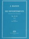 HAL LEONARD Haydn, F.J.: 6 Divertimenti No. 4-6 (violin, Viola, Cello)