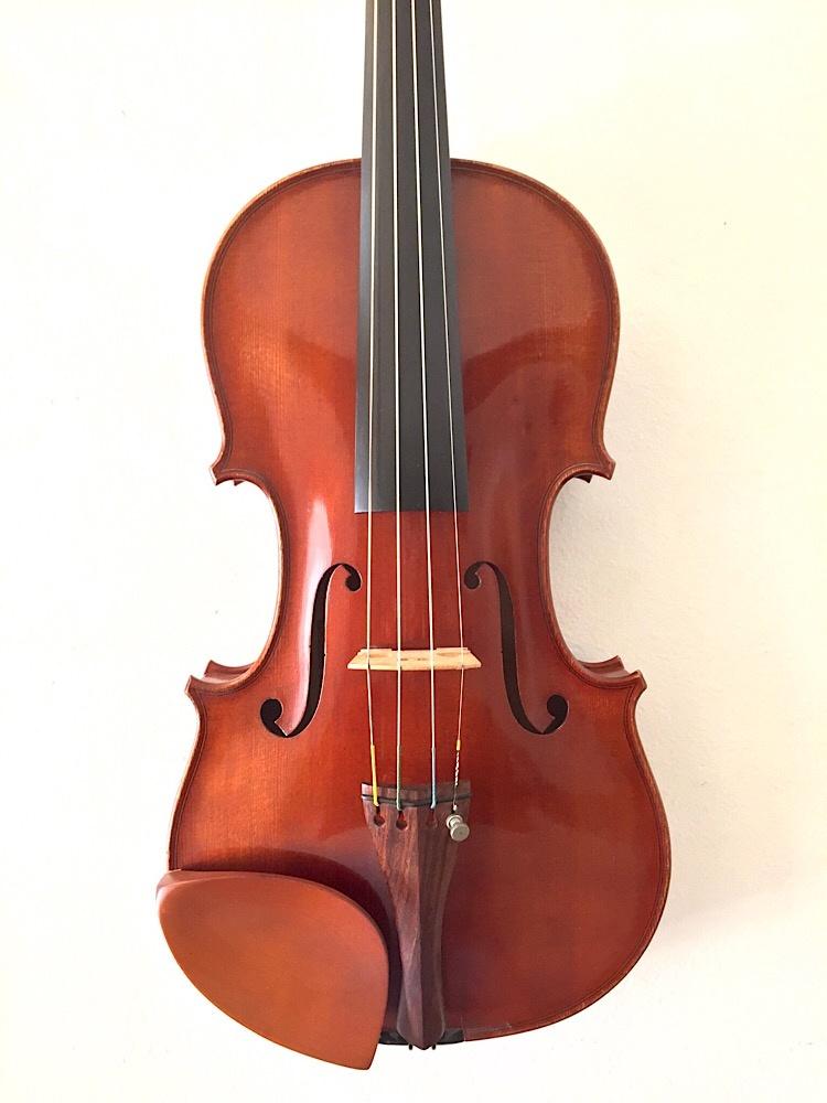ALBERT CARL MULLER 4/4 violin, 1982 Sacramento