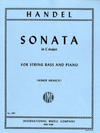 International Music Company Handel, G.F. (Mensch): Sonata in C major (bass & piano)