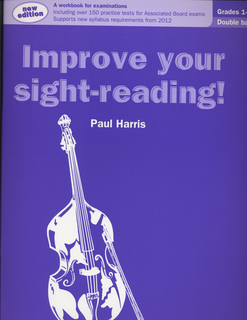 Alfred Music Harris, Paul: Improve Your Sight-Reading, Grades 1-5 (bass)