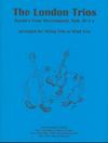 Last Resort Music Publishing Haydn F.J. (Lish): The London Trios (violin, viola, cello)