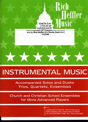 Heffler, Rich: God Is Love (2 violins & cello)