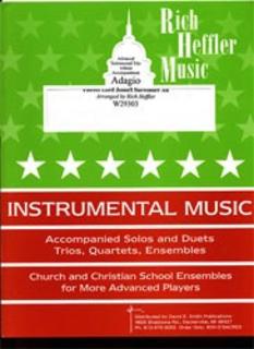Heffler, Rich: Fairest Lord Jesus/I Surrender All (2 violins & cello)