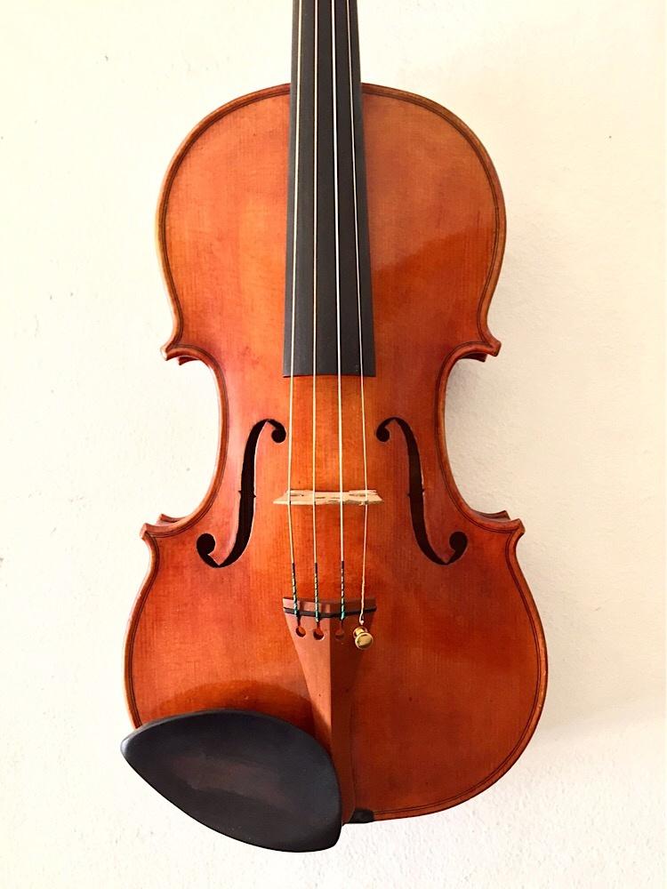 Antonio Rizzo violin, Torrance, California, 1996, #34