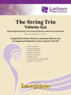 LudwigMasters Hockner, W: The String Trio Vol.1a (string trio) Ludwig Masters