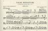 International Music Company Koussevitzky, Serge: Valse Miniature Op.1 #2 (bass & piano) IMC
