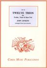 Corda Jenkins, J. (Gammie): Twelve Trios for Treble, Tenor & Bass Viol (violin, viola, and cello)