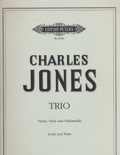 Jones, Charles: Trio (violin, viola & cello) score & parts