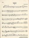 Jones, Charles: Trio (violin, viola & cello) score & parts