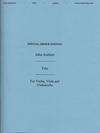 HAL LEONARD Joubert, John: Trio Op. 30 (violin, Viola, Cello)