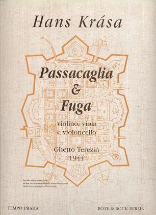 HAL LEONARD Krasa, Hans: Passacaglia & Fugue (violin, Viola, Cello) score & parts