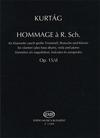 HAL LEONARD Kurtag, Gyorgy: Homage to R.Schumann Op.15 (clarinet, Viola, Piano)