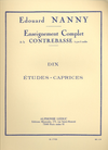 Nanny, Edouard: 10 Etudes (bass)