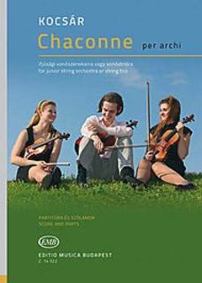 HAL LEONARD Miklos, K.: Chaconne per arhi (2 violins and cello)
