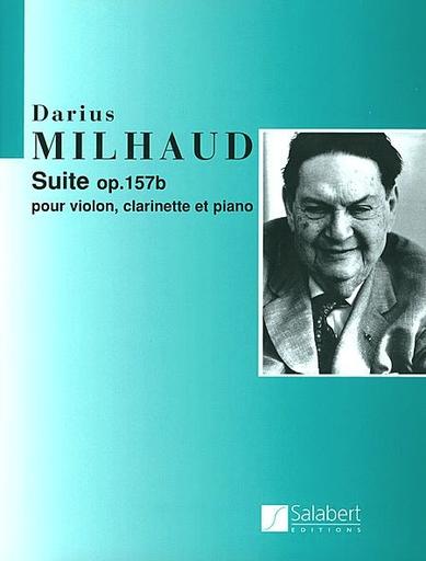 HAL LEONARD Milhaud, Darius: Suite Op. 157b (violin, clarinet, piano)