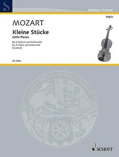 HAL LEONARD Mozart, W.A. (Giesbert, ed.): Little Pieces (2 violins and cello)