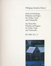 Mozart, W.A.: Six 3-part Preludes & Fugues No.1-3 K404a  (violin, viola, cello)