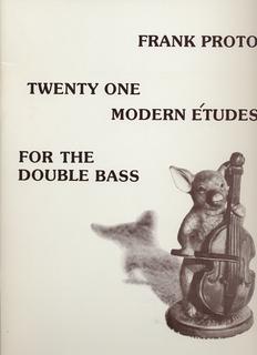 Proto, F.: 21 Modern Etudes (Bass)