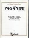 Alfred Music Paganini, Niccolo: Grand Sonata for Guitar and Piano with Accompanying Violin
