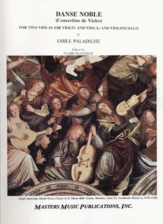 LudwigMasters Paladilhe, Emile: Danse Noble (2 violas, cello) (violin, viola, cello) score & parts