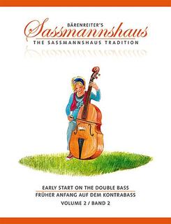Barenreiter Sassmannshaus: Early Start on the Double Bass, Vol.2 (bass) Barenreiter