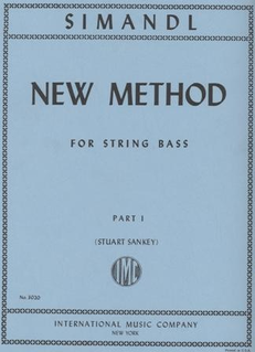 International Music Company Simandl (Sankey): New Method Part 1 (bass)