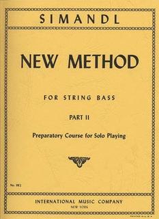 International Music Company Simandl: New Method Part 2 (bass)