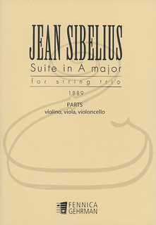 HAL LEONARD Sibelius: (parts) Suite in A Major (1889)(string trio) Fennica Gehrman