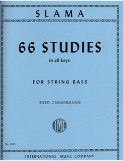 International Music Company Slama, Anton: 66 Studies in All Keys (Bass)