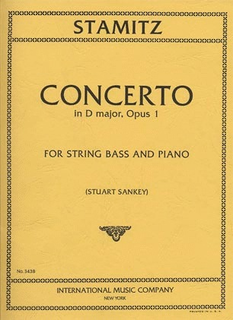 International Music Company Stamitz, Carl (Sankey): Concerto in D Op.1 (bass & piano)