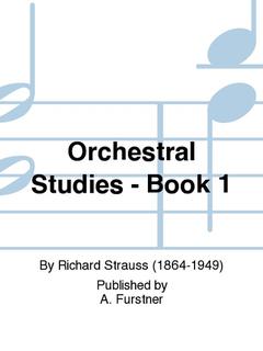 HAL LEONARD Strauss, R.: Orchestral Studies, Book 1 (bass)