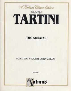 Alfred Music Tartini: Two Sonatas (2 violins & cello)