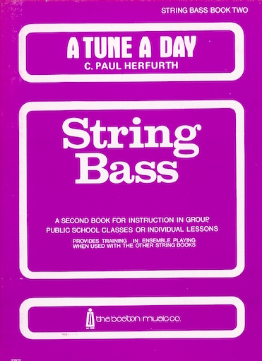 HAL LEONARD Herfurth: A Tune A Day, Vol.2 (bass)