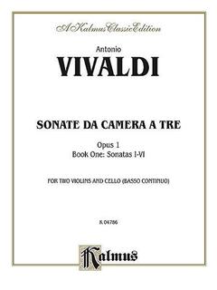 Alfred Music Vivaldi, Antonio: Sonatas da Camera a Tre, Op.1 Vol.1 (2 violins, cello, piano)