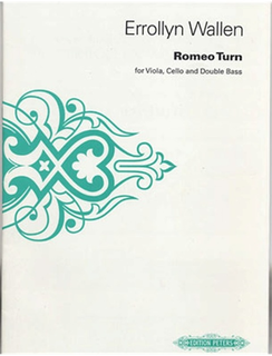 Wallen, Errollyn: Romeo Turn (viola, cello and bass) performing score