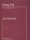 Carl Fischer Zwilich, Ellen Taaffe: String Trio for Violin, Viola and Cello, score & parts