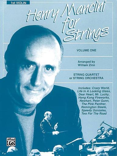 Alfred Music Mancini, Henry (Zinn): For Strings Vol.1 (violin 1)