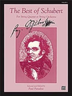 Alfred Music Schubert, F. (Paradise, ed.): Best of Schubert (1st violin)