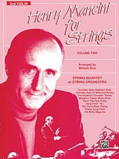 Alfred Music Mancini, Henry (Zinn) For Strings Vol. 2 (violin 2)