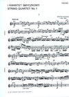 Carl Fischer Bacewicz, Grazyna: String Quartet No. 1 (set of parts)